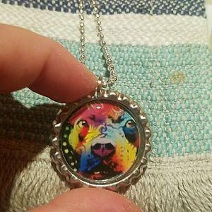 New pitbull necklace